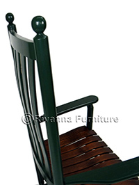 The Classic Shaker Rocker with a Lumbar Back