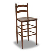 530 Martha Washington 30 Ladder Back Stool