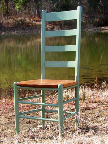 19t Troutman Cottage Tall Ladder Back Chairs Carolina
