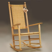 990 Cane Seat & Back Plantation Rocker