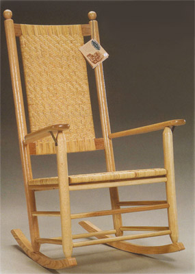 990 Cane Seat Amp Back Plantation Rocker From Troutman Chair