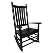 970 Plantation Shaker Rocker with Lumbar Back