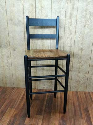 Cottage Ladder Back Stool & Troutman Oak Chairs u0026 Stools | Carolina Porch Rockers islam-shia.org