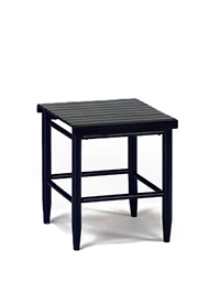 Quick Ship 70 Slat Top Side Table